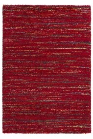 Covor Mint Rugs Pufos Nomadic Rosu 80x150 cm
