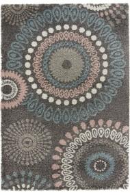 Covor Mint Rugs Shaggy Allure Gri 120x170 cm