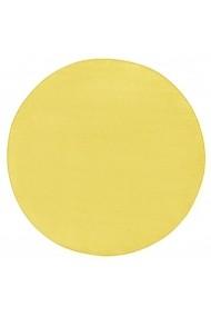 Covor Hanse Home Unicolor Fancy Rotund Galben 200x200 cm