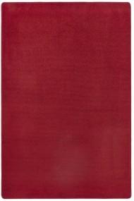 Covor Hanse Home Unicolor Fancy Rosu 80x150 cm