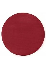 Covor Hanse Home Unicolor Fancy Rotund Rosu 200x200 cm