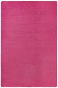 Covor Hanse Home Unicolor Fancy Roz 80x150 cm