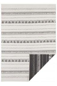 Covor Hanse Home Reversibil Modern & Geometric Twin Supreme Negru/Crem 120x170 cm