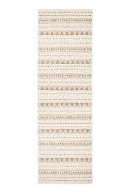 Covor Hanse Home Reversibil Modern & Geometric Twin Supreme Maro/Crem 80x250 cm