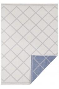 Covor Hanse Home Reversibil Modern & Geometric Twin Supreme Albastru/Crem 160x230 cm