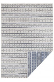 Covor Hanse Home Reversibil Modern & Geometric Twin Supreme Albastru/Crem 120x170 cm
