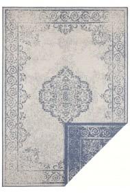 Covor Hanse Home Reversibil Oriental & Clasic Twin Supreme Albastru/Crem 80x150 cm