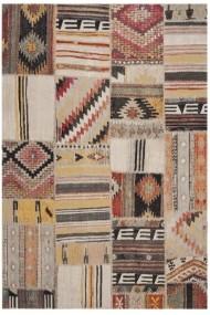 Covor Safavieh Patchwork Leighton Taupe/Multicolor 160x230 cm