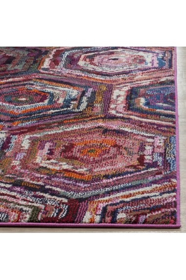 Covor Safavieh Modern & Geometric Mattia Roz/Multicolor 120x180 cm