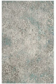 Covor Safavieh Modern & Geometric Steller Gri/Albastru 120x180 cm