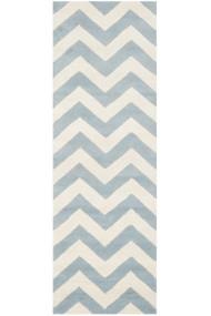 Covor Safavieh Modern & Geometric Crosby Lana Albastru/Bej 62x240 cm