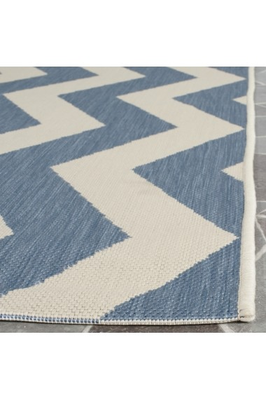 Covor Safavieh Modern & Geometric Amalfi Albastru/Bej 120x180 cm