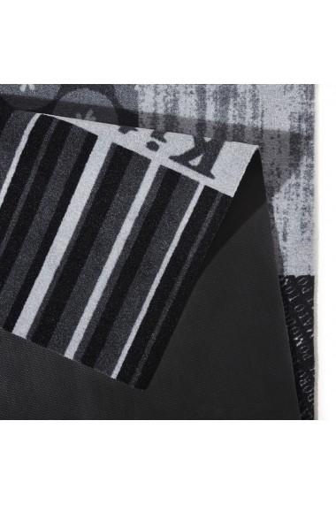 Covor Zala Living Bucatarie Modern & Geometric Cook & Clean Gri 50x150 cm