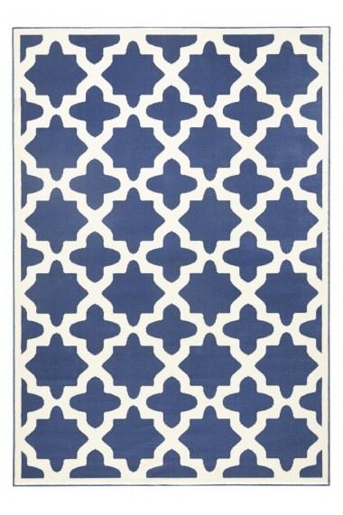 Covor Zala Living Modern & Geometric Capri Albastru 140x200 cm