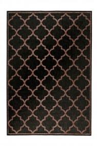 Covor Wecon home Oriental & Clasic Gleamy Outdoor, Negru, 133x200