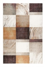 Covor Wecon home Modern & Geometric Mirage, Portocaliu, 133x200