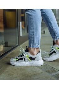 Sneakers Bigiottos J5040 din piele velur