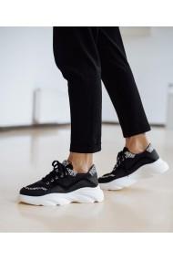 Pantofi sport Bigiottos Shoes Galaxy negri