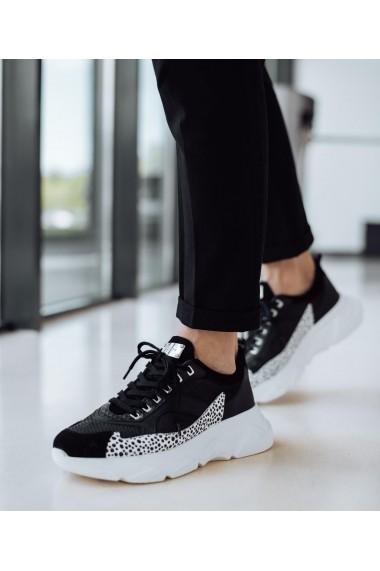 Pantofi sport Bigiottos Shoes Cambridge negri