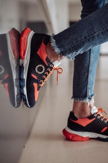 Pantofi sporti sport Bigiottos Shoes din piele naturala si material textil