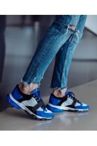 Pantofi sporti sport Bigiottos Shoes Santorini albastri