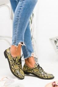 Pantofi Awon 50001SRY Galben