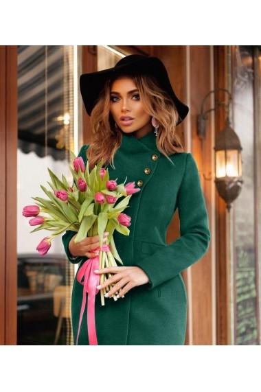 Palton Chic Diva Tania Verde