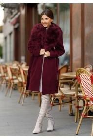 Palton Chic Diva Vivienne Bordo