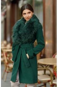 Palton Chic Diva Vivienne Verde