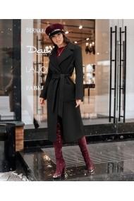 Palton Chic Diva Brianna Negru