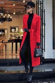 Palton Chic Diva Brianna Rosu