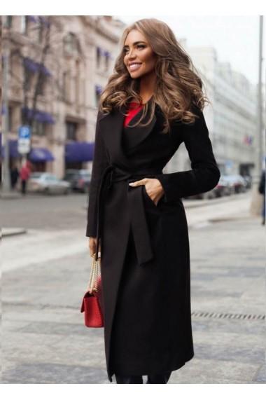 Palton Chic Diva Freddo Negru