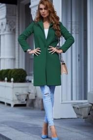 Palton Chic Diva Akira Verde