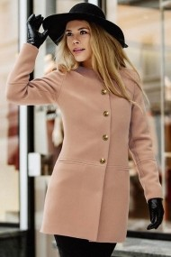 Palton Chic Diva Ruslana Bej