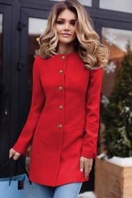 Palton Chic Diva Ruslana Rosu