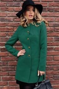 Palton Chic Diva Ruslana Verde