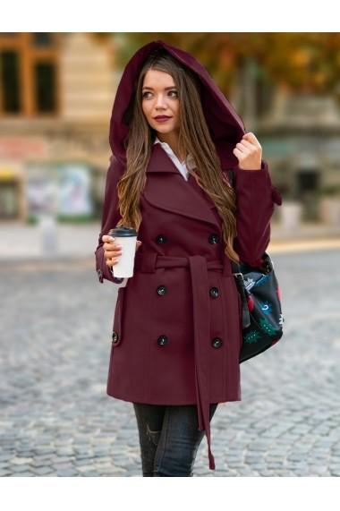 Palton Chic Diva Alexis Bordo