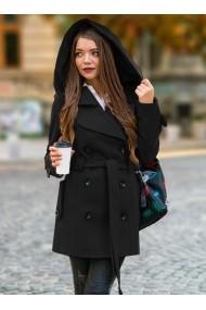 Palton Chic Diva Alexis Negru