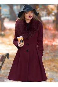 Palton Chic Diva Natalie Bordo
