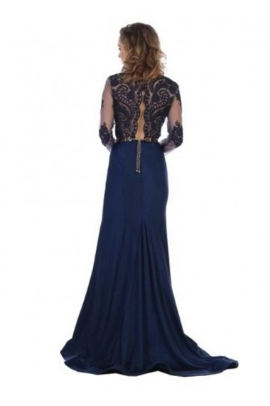 Rochie de seara France Mode M7624 Bleumarin