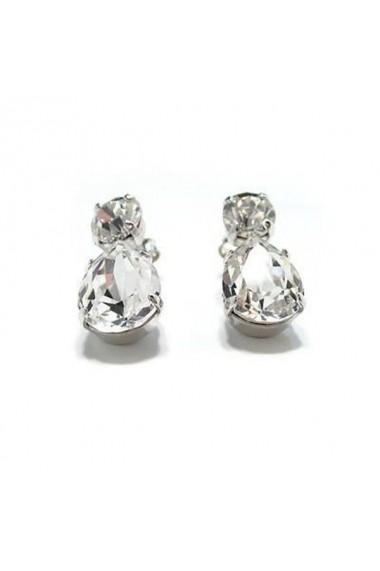 Cercei cu cristale Swarovski Carla Brillanti Zora Crystal