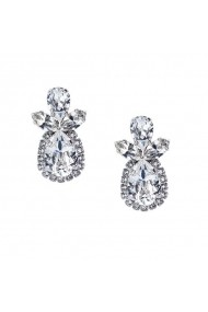 Cercei cu cristale Swarovski Carla Brillanti Angel Crystal