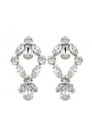 Cercei cu cristale Swarovski Carla Brillanti 3035 Crystal