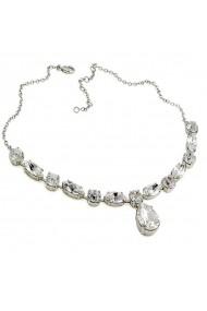 Colier cu cristale Swarovski Carla Brillanti 1035 Crystal