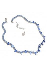 Colier cu cristale Swarovski Carla Brillanti 1031 Saphire