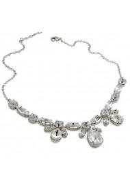 Colier cu cristale Swarovski Carla Brillanti 1082 Crystal