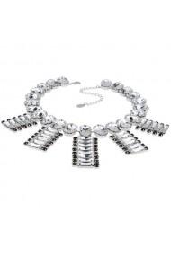 Colier cu cristale Swarovski Carla Brillanti 1170 Crystal &Jet