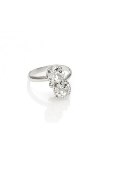 Inel cu cristale Swarovski Carla Brillanti 7028 Crystal