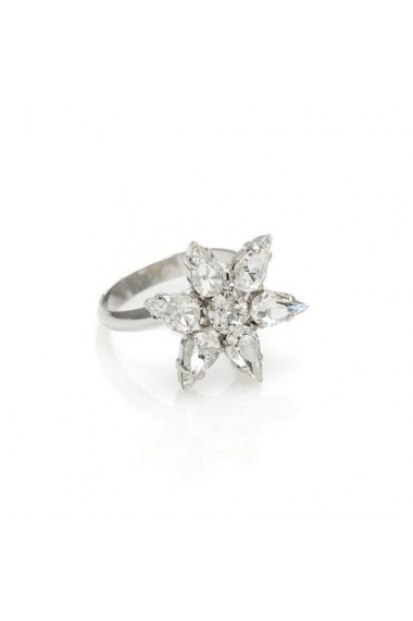Inel cu cristale Swarovski Carla Brillanti Sparkly 7 Crystal