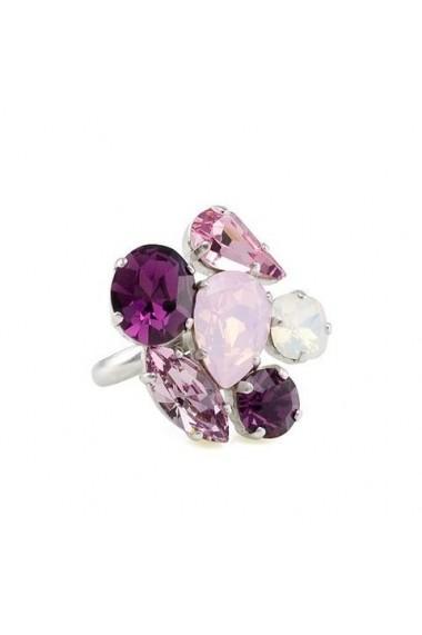 Inel cu cristale Swarovski Carla Brillanti Happy Colors